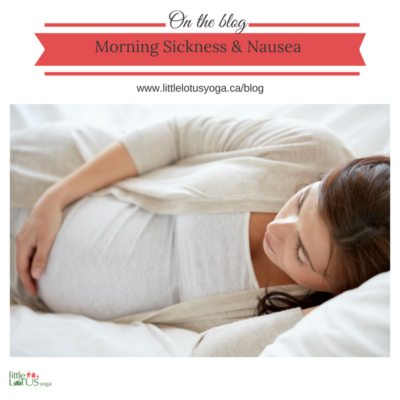 Morning Sickness & Nausea During Pregnancy