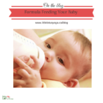 Formula Feeding Your Infant