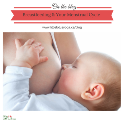The Lowdown On Breastfeeding & Your Menstrual Cycle